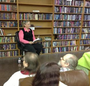 HRJ reading from Daughter of Mystery